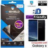 ขาย Hishield 3D Case Friendly ไฮชิลด์ ฟิล์มกระจกนิรภัย For Samsung S8 ถูก ใน สมุทรสาคร