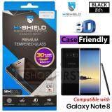 Hishield 3D Case Friendly ไฮชิลด์ ฟิล์มกระจกนิรภัย For Samsung Note8 ถูก