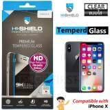 ราคา Hishield Tempered Glass ไฮชิลด์ ฟิล์มกระจกนิรภัยไม่เต็มจอ For Iphone X ใส ใน สมุทรสาคร
