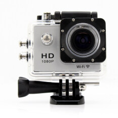 HLT-Action Camera Full HD 12 MP Wifi - จอ 2 นิ้ว (White)