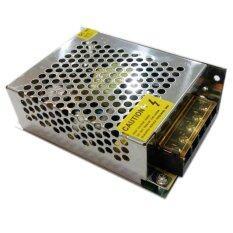 หม้อแปลงไฟ 12V 5A 60W POWER SUPPLY SWITCHING (สีเงิน) (Bronze)