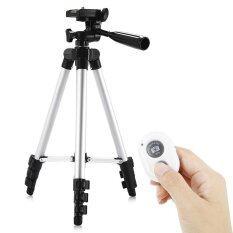 ขาย Hm3110A Camera Camcorder Flexible Three Way Head Tripod With Bluetooth 4 Remote Controller Intl ออนไลน์ จีน