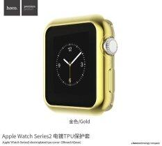 ราคา Hoco Apple Watch Series 2 38 มิลลิเมตรซิลิคอนสีสัน Electroplating ป้องกันสำหรับ Apple Watch Series 2 38 มิลลิเมตร Tpu Shinning ทอง ถูก