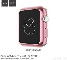 ราคา Hoco For Apple Watch Series 2 38Mm Soft Silicon Colorful Electroplating Protective Cover Case For Apple Watch Series 2 38Mm Tpu Shinning Case �C Intl Rose Gold ถูก