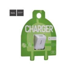 ราคา Hoco อแดปเตอร์ชาร์จไฟ รุ่น C2 Smart Travel Home Charger สีขาว เป็นต้นฉบับ