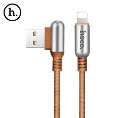 ขาย Hoco U17 Capsule L Type 8 Pin 2 4A Charging Data Transmission Sync Cable 1 2M Intl