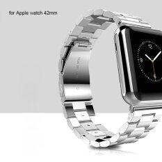ซื้อ Hoco Watch Band Stainless Steel Watchband With Safety Folding Clasp For Apple Watch 42Mm Intl Thailand