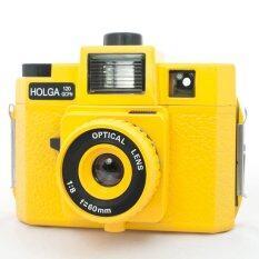 ขาย ซื้อ ออนไลน์ Holga Lomo Camera 120 Gcfn Yellow