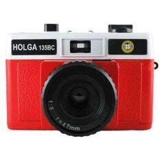 ซื้อ Holga Lomo Camera 135Bc Black Corner Red White ออนไลน์ ไทย