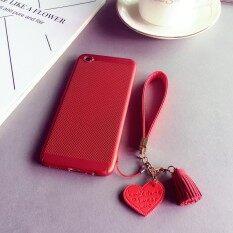 ซื้อ Hollow Dotted Heat Dissipation Case For Vivo V5 Plus Red Love Lanyard Intl Unbranded Generic