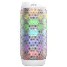 ซื้อ Hot Aec Bq 615Pro Colorful Waterproof Bluetooth Speaker Wireless Nfc Super Bass Subwoofer Outdoor Sport Sound Box Fm Portable Speaker White Aec ถูก