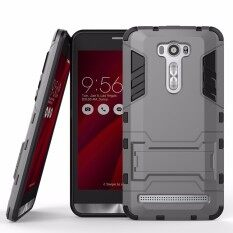 ราคา Hot Sale For Asus 601 Ze601Kl Case Armor Kickstand Rubber Hard Pc Back Phone Case For Asus Zenfone 2 Laser Ze601Kl Cover 6 Inch Panic Buying Intl ใหม่