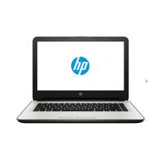 "HP แล็ปท็อป รุ่น 14-am109TX/i5-7200U/14""/4G/1TB/R5(2)/Dos (สีขาว/เงิน)"