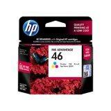 ซื้อ Hp 46 หมึกพิมพ์ รุ่น Cz638Aa Tri Color Deskjet Ink Advantage 2020Hc 2029 2520Hc Aiq 2529 4729 ถูก ใน ไทย