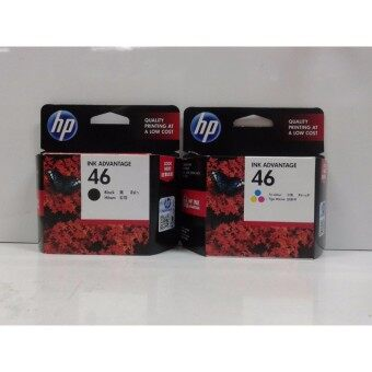 ตลับหมึก HP 46/Black + HP 46/Color Original