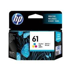 ราคา Hp 61 Ink Cartridge Tri Color ของแท้hp Deskjet 1000 1050 2000 2050 3000 3050A 1010 1510