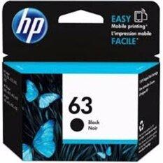 ตลับหมึกดำ HP 63 BK For HP Deskjet 1110, 1112, 2130, 2131, 2132, 3630, 3632