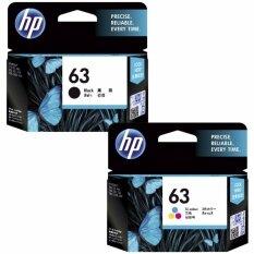 ราคา Hp 63 Bk Co F6U62A F6U61A Ink ใหม่