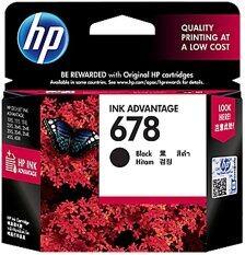 Hp 678 Black Ink Advantage Cartridge Cz107Aa ไทย