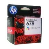 ขาย Hp 678 Cz108Aa Tri Color หมึกแท้ สีสามสี จำนวน 1 ชิ้น Hp เป็นต้นฉบับ