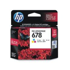 ราคา Hp 678 Ink Cartridge Cz108Aa Tri Color