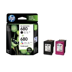 HP 680 Color/Black Ink Crtg Combo 2-Pk (X4E78AA)