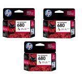 ขาย Hp 680 F6V26Aa Ink Color สี 3 ตลับ Hp Ink And Toner Cartridge เป็นต้นฉบับ