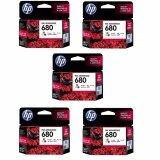 ราคา Hp 680 F6V26Aa Ink Color สี 5 ตลับ ออนไลน์