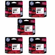 ส่วนลด Hp 680 F6V27Aa Ink Black สีดำ 5 ตลับ