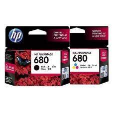 ราคา หมึกเครื่องพิมพ์อิงค์เจ็ท Hp 680 Tri Color Black Original Ink Advantage Cartridge แพคคู่ กรุงเทพมหานคร