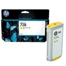 ราคา Hp 728 130 Ml Yellow Designjet Ink Cartridge F9J65A ถูก