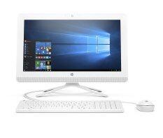 """HP All in One รุ่น 20-c023l Non Touch (W2U20AA#AKL) 19.5""""/i3-6100U/4GB/1TB/Dos (White)"""