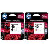 ราคา Hp Cz637Aa No 46 Black Cz638Aa No 46 Color 2 ชิ้น For Hp Deskjet Ink Advantage 2020Hc 2029 2520Hc Aiq2529 4729 ใหม่