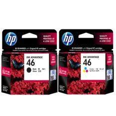 ขาย Hp Cz637Aa No 46 Black Cz638Aa No 46 Color 2 ชิ้น For Hp Deskjet Ink Advantage 2020Hc 2029 2520Hc Aiq2529 4729 ไทย ถูก