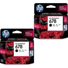 Hp Ink Advantage Cartridge 678 Black 2 กล่อง ใน กรุงเทพมหานคร