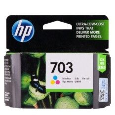 Hp Ink Cartridge 703 Cd888Aa Tri Color ถูก