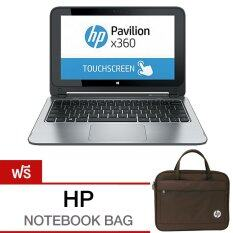 HP Pavilion 11-n103TU x360 L0L60PA#AKL 5Y10c/4GB/500GB+8NAND/Intel® HD Graphics/Win8.1 – Silver ฟรี กระเป๋าใส่โน๊ตบุ๊ค HP