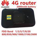 ความคิดเห็น Huawei E5577S 321 Lte 4G Router Pocket Wifi Hotspot 3000Mah Battery