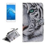 ราคา Huawei Y7 Tiger Pattern Horizontal Flip Leather Case With Holder And Card Slots And Wallet Intl ใหม่ล่าสุด