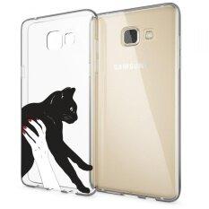 Hug Case TPU เคส Samsung Galaxy A7 2017 เคสโทรศัพท์พิมพ์ลาย 1125 เนื้อบาง 0.3 mm
