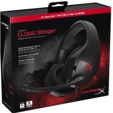 ขาย หูฟัง Head Phone Kingston Hyperx Cloud Stinger Gaming Headset Hx Hscs Bk Thailand