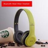 หูฟังบลูทูธ ไร้สาย Wireless Bluetooth Headphone Stereo รุ่น P47 Green เป็นต้นฉบับ