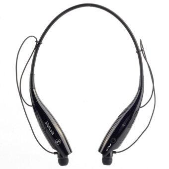 HV-800 A2DP ชุดหูฟังบลูทูธผ้าพันคอ (สีดำ)