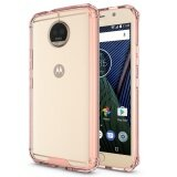 ซื้อ Hybrid Slim Grip Tpu Bumper Transparent Hard Back Case Cover For Motorola Moto G5S Plus Rose Gold Intl ออนไลน์