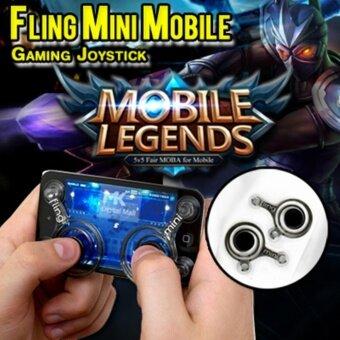 i-Joystick จอยเกมส์มือถือ (2 ชิ้น) ทุกเกมที่ใช้ระบบสัมผัสนิ้วโป้งซ้าย-ขวา (Android / iPhone iPad) For All Mobile V1