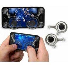 i-Joystick i joystickจอยเกมส์มือถือ (2 ชิ้น) ทุกเกมที่ใช้ระบบสัมผัสนิ้วโป้งซ้าย-ขวา (Android / iPhone iPad) For All Mobile V1
