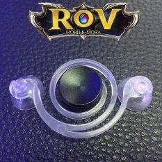 i-Joystick Joystick-It จอยเกมส์มือถือ mobile joy จอยสติ๊กสำหรับเกมส์มือถือ(Rov) ทุกเกมที่ใช้ระบบสัมผัส (Android / iPhone iPad) For All Mobile V5.+(Black) .