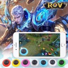 i-joystick รุ่นใหม่ ติดบนฟิล์มกระจกได้ Mobile joystick จอยติดหน้าจอ ใช้ได้ทั้ง ios-android ใช้ง่ายเป็นตัวดูดติดหน้าจอได้เลย สำรับ iphone/samsung mobile phone(Rov) V30 สีขาว