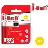 I Mem เมมโมรี่การ์ด Sd Card 4Gb ของแท้ 100 ใหม่ล่าสุด