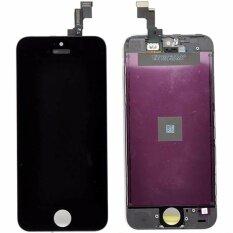 อะไหล่มือถือหน้าจอชุดพร้อมทัชสกีน  i phone5s(สีดำ)